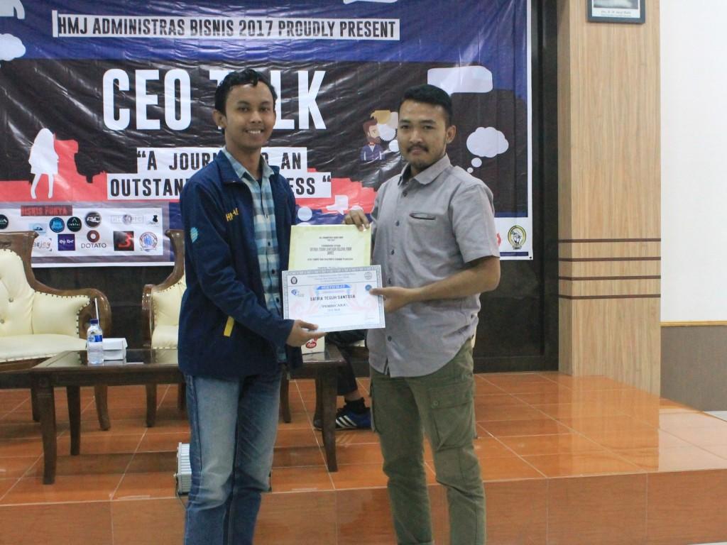 Kegiatan HMJ Administrasi Bisnis 2017